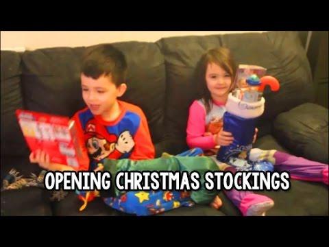 Super Mario Christmas Stocking.Christmas Stockings Opening 2014 Super Mario Bros Sofia The First Minecraft More