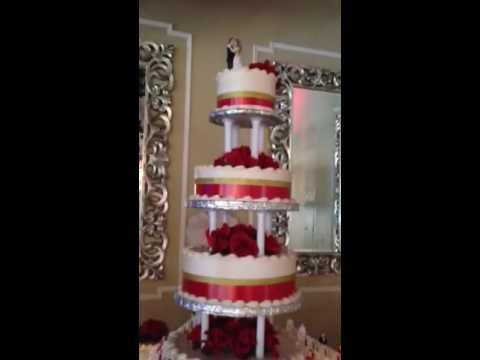 17 Tier ATLANTA WEDDING CAKE AMAZING WEDDING MARRIAGE MINISTER OFFICIANT REVEREND JOHNSON