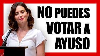 ES IMPOSIBLE VOTAR a NADIE, ni en MADRID ni en ESPAÑA