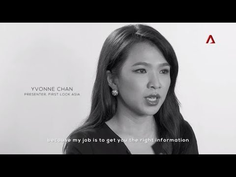 Yvonne Chan, Presenter, First Look Asia on Channel NewsAsia