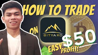 FREE CRYPTO TOKENS / SATOSHI'S AND BONUSES | HOW TO GET ON BITYARD AND TRADE ON CONTRACT EXCHANGE