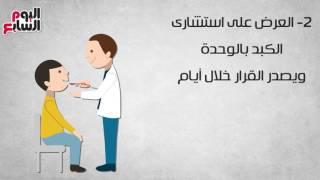 فيديو جراف.. كيف تحصل على علاج