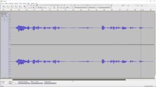 [ Audacity ] #028 - Effet réduction de bruit de fond / noise reduction