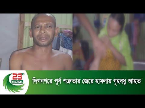 দিগনগরে পূর্ব শত্রুতার জেরে হামলায় গৃহবধু আহত   Channel 23 News
