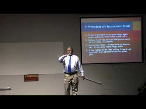 Brother Carl teaches about Who is Lot