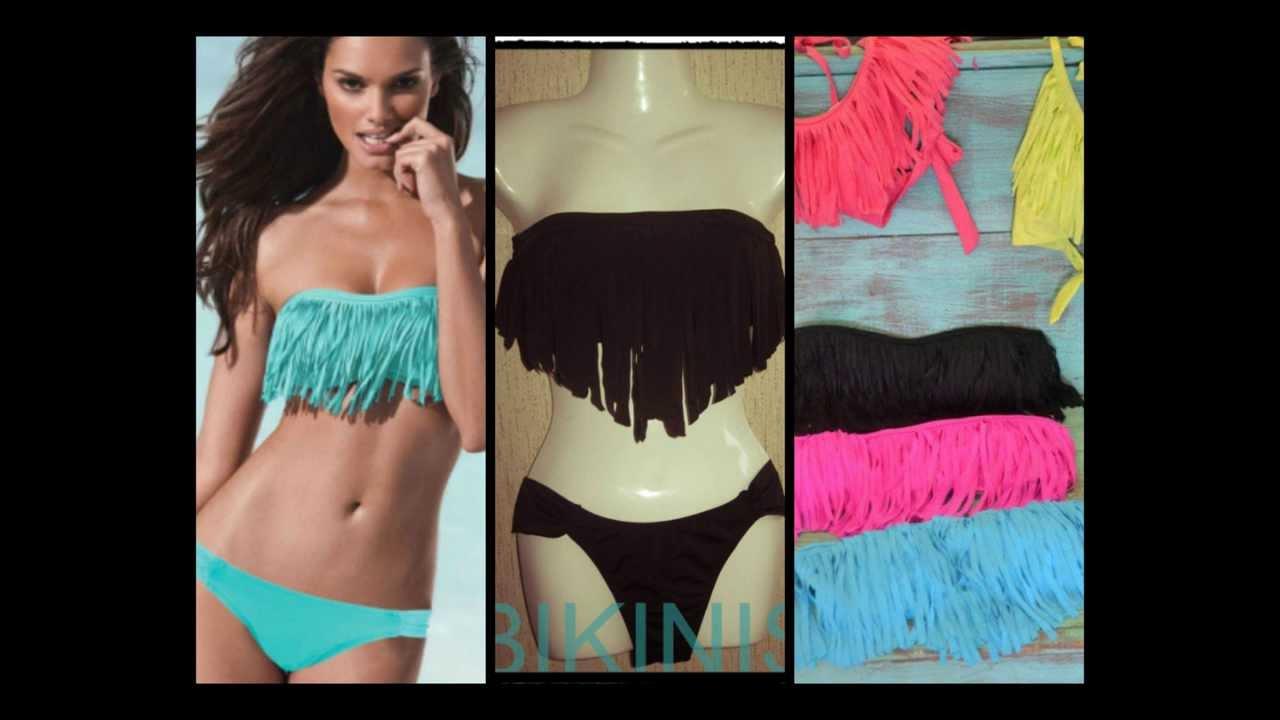 Ropa de ba o verano 2014 per youtube for Ganchos para trajes de bano