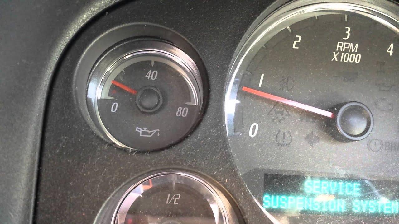 Gmc Yukon Xl Denali >> 07 GMC Denali 6.2 low oil pressure - YouTube