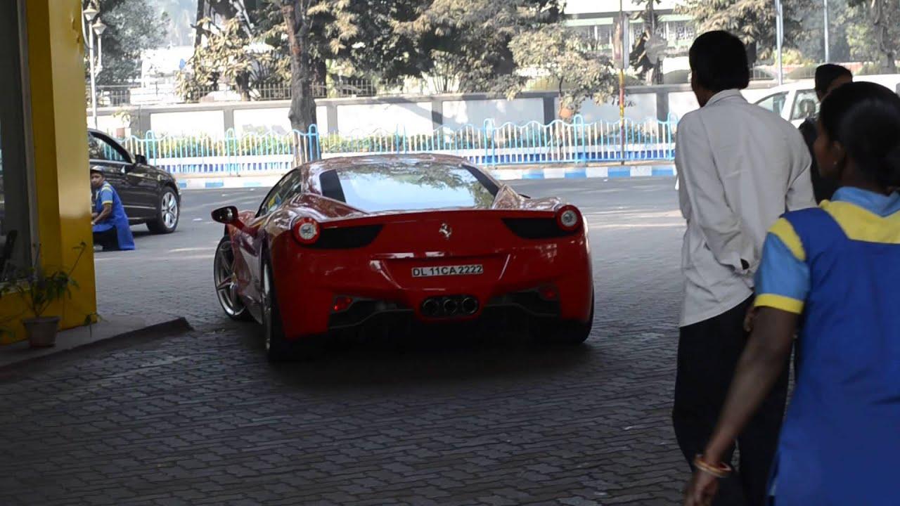Ferrari Italia In Kolkata Youtube
