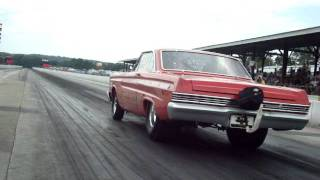 1965 A/FX Mercury Comet Cyclone @ the NHRA Holley Hot Rod Reunion 2011, Bowling Green, Ky