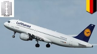 German Lufthansa flight forced to land by asylum seeker with razor blade