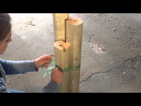 The Crafting Coach: learn how to make Solar Light Posts