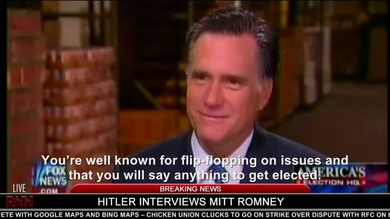 Hitler interviews Mitt Romney