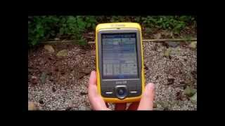 GPS Trimble Training 8 - Using the Juno Offset Feature Collection Option