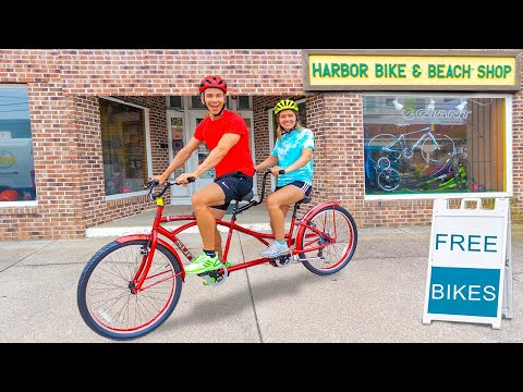 WORKING at a BICYCLE SHOP for 24 HOURS!! (FREE Bikes for Everyone) thumbnail