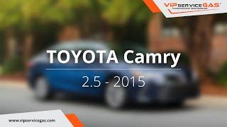 Обзор ГБО на Toyota Camry 2.5 2015 - ГБО Landi Renzo (ГАЗ на Тойота Камри 2.5) VIPserviceGAS Харьков
