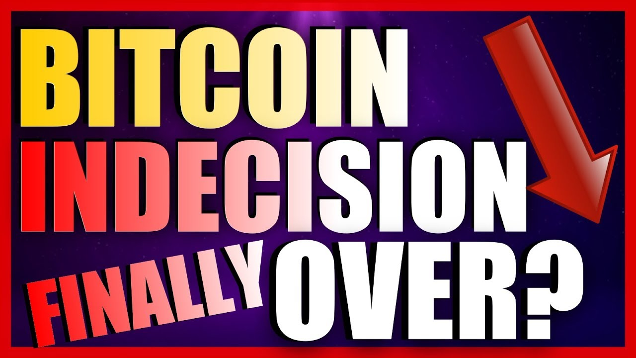 BITCOIN INDECISION FINALLY OVER?! - EOS ZRX DOGE NEO  - Crypto Snake - Daily Bitcoin Analysis