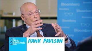 Hank Paulson on The David Rubenstein Show