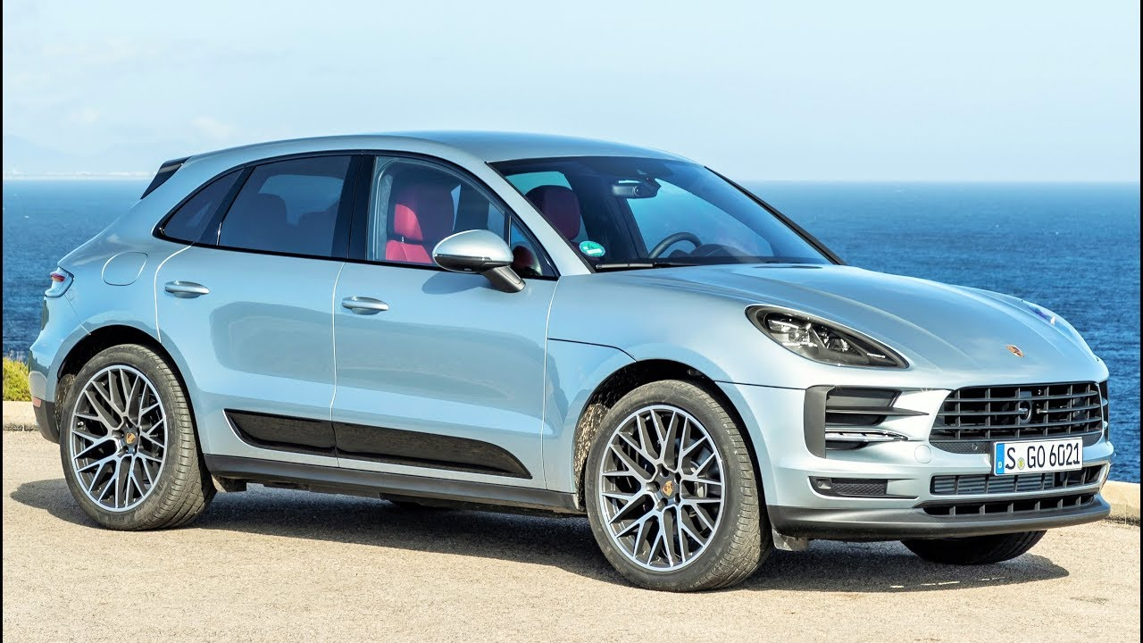 2019 Silver Porsche Macan Sports Car In The Suv Segment