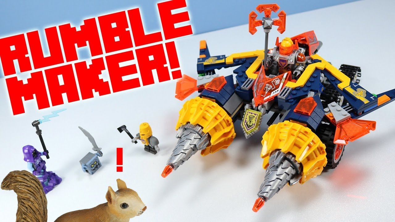 Where is the rumble-maker