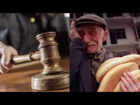 Полиция арестовала старика за кражу хлеба и отдала под суд: судья вынес справедливый приговор