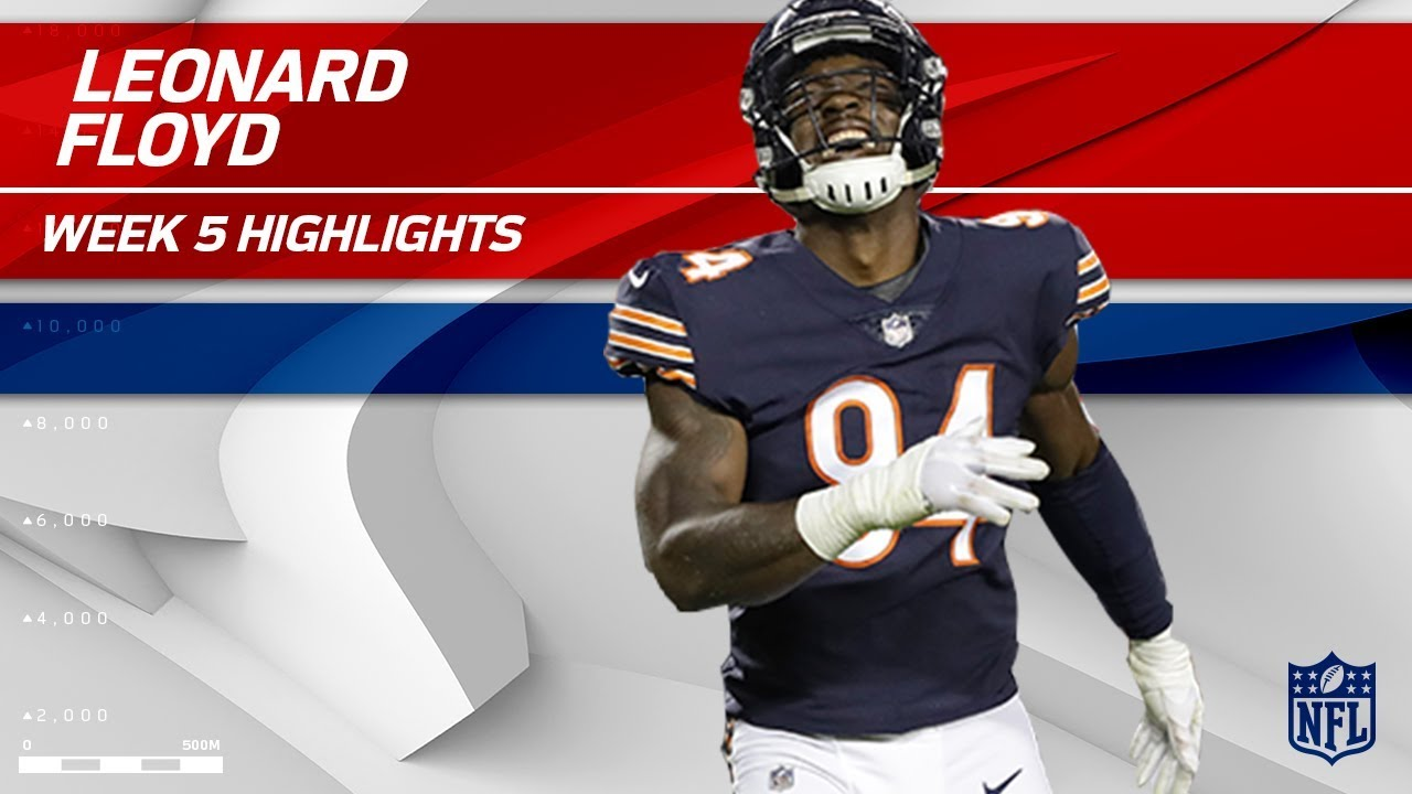 info for 701ee df06f Leonard Floyd's 2 Sacks w/ Safety! 🙏 | Vikings vs. Bears | Wk 5 Player  Highlights