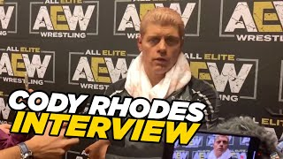 Cody Talks Signing Jon Moxley To AEW After Double Or Nothing!