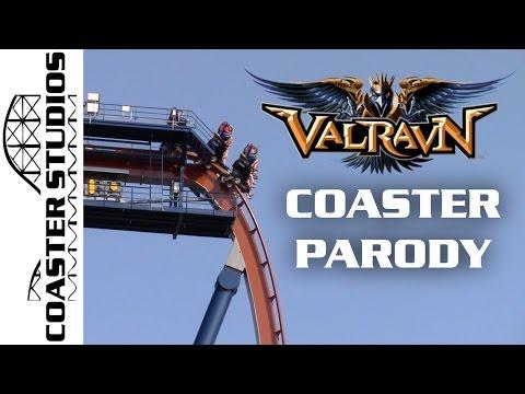 Coaster Parody: Valravn At Cedar Point