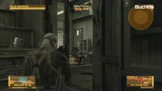 Metal Gear Solid 4 Walkthrough HD Act 2 - Research Lab 1-3 |Chapter 6|