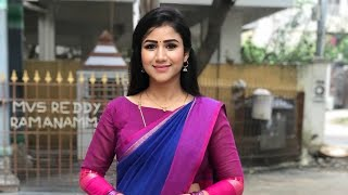 Alya manasa saree collection - YouTube