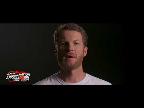 TEXAS MOTOR SPEEDWAY CELEBRATING EARNHARDT JR. THROUGH FANS