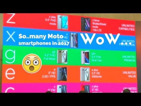 Moto X4 new leaks suggest amazing Specs  - 9 smartphones in Motorola Line Up 2017