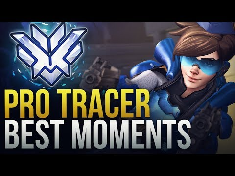 BEST PRO TRACER MOMENTS - Overwatch Montage thumbnail