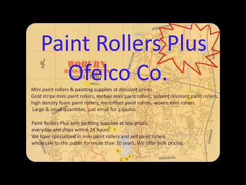 Mini paint roller covers wholesale prices.