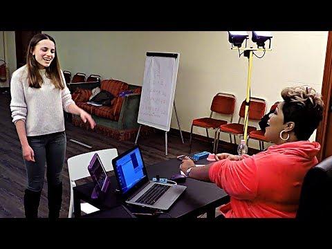 A Voice Within - Coaching Giuliana (EN subs) Cheryl Porter vocal coach