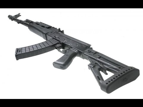 Lego Ak 47 With Fake Adjustable Stock Youtube