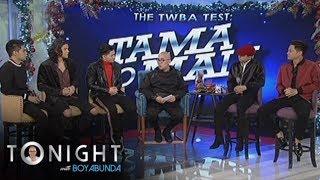 TWBA: BoybandPH on TWBA Test