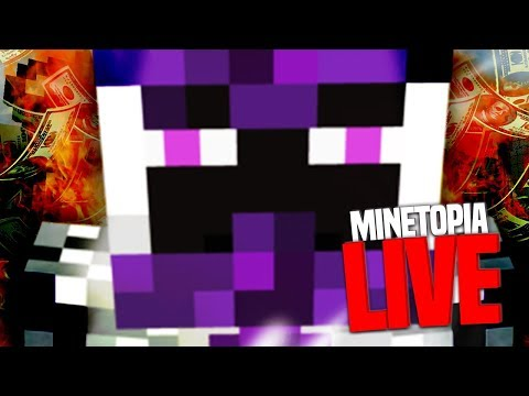 MYRELEIOS IS TERUG!! MINETOPIA LIVE! (EGS rank Give Away)