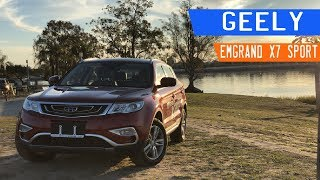 Geely Emgrand X7 Sport Review 2018 | Manejando