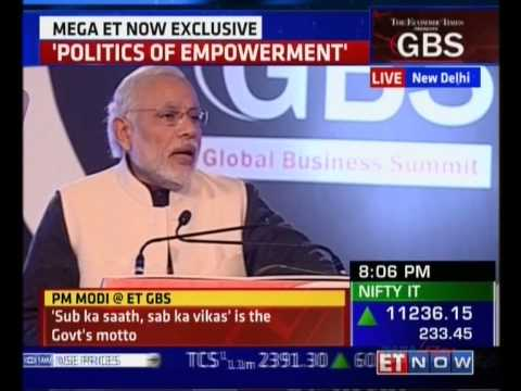 PM Modi at The Economic Times Global Business Summit 2016