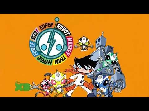 Super Robot Monkey Team Hyper Force Go! Intro HD
