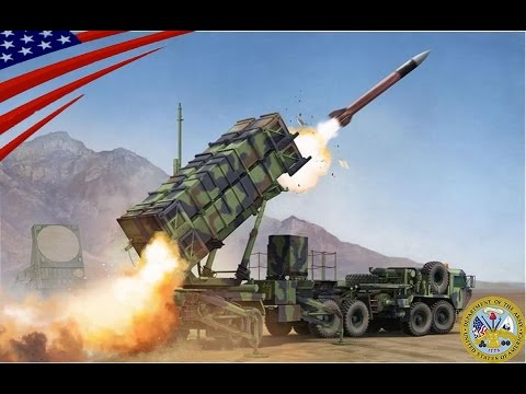 US .Army surface-to-air Missile Defence (SAM) MIM-104 Patriot ...