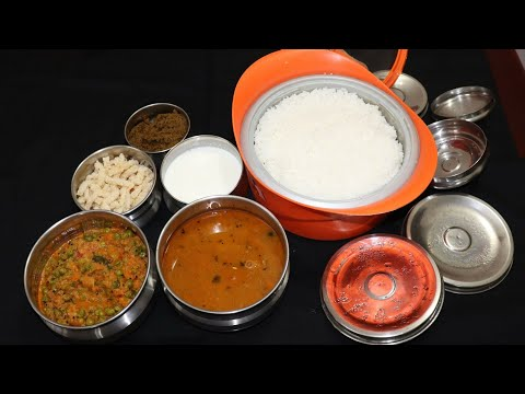 Veg Lunchmenu/Easy Lunchmenu/Lunch menu in Tamil/Lunchmenu in hema's kitchen