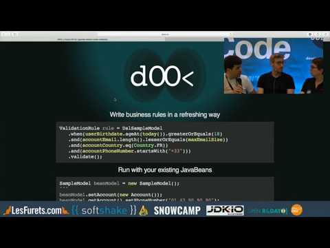 DSL.using(java).toGoBeyond(BeanValidation) With Ozan Gunalp And Gilles Di Guglielmo