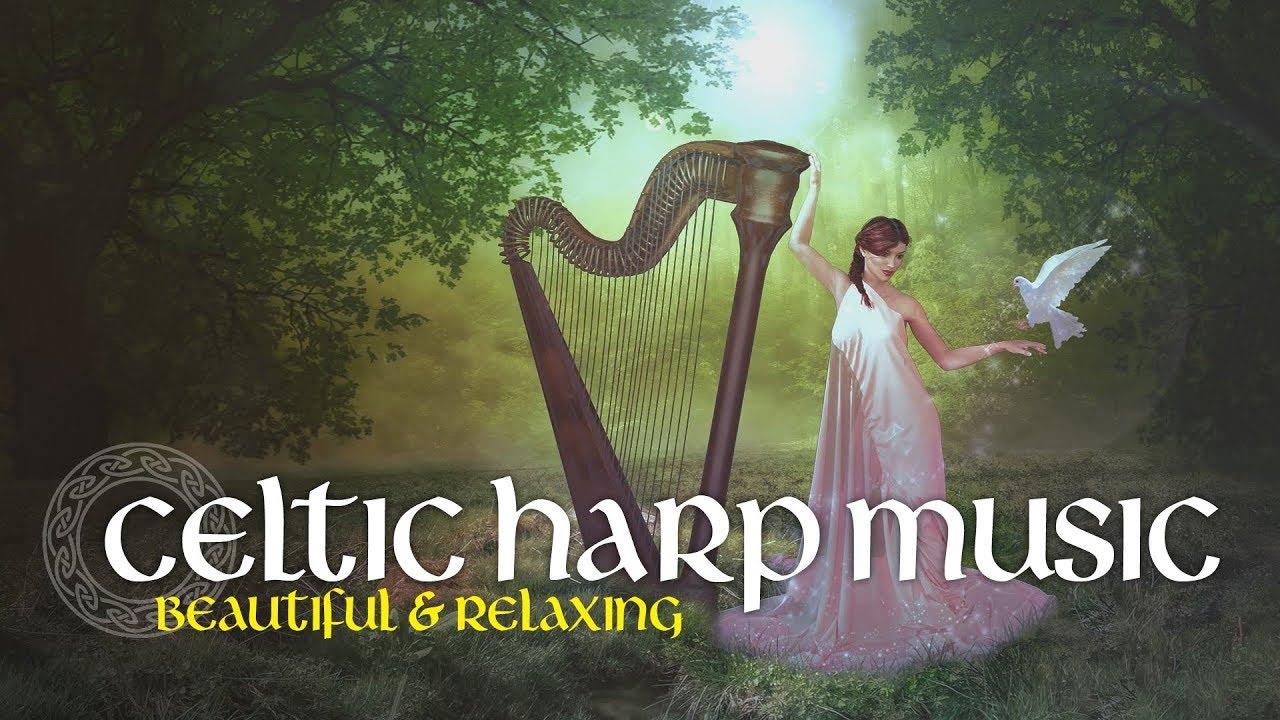 Celtic Harp Music Celtic Angel 2hours Irish Music By Patrick Lenk Youtube