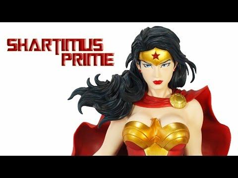 Kotobukiya Wonder Woman ARTFX 1:6 Scale Jim Lee Inspired Collectible Statue Review