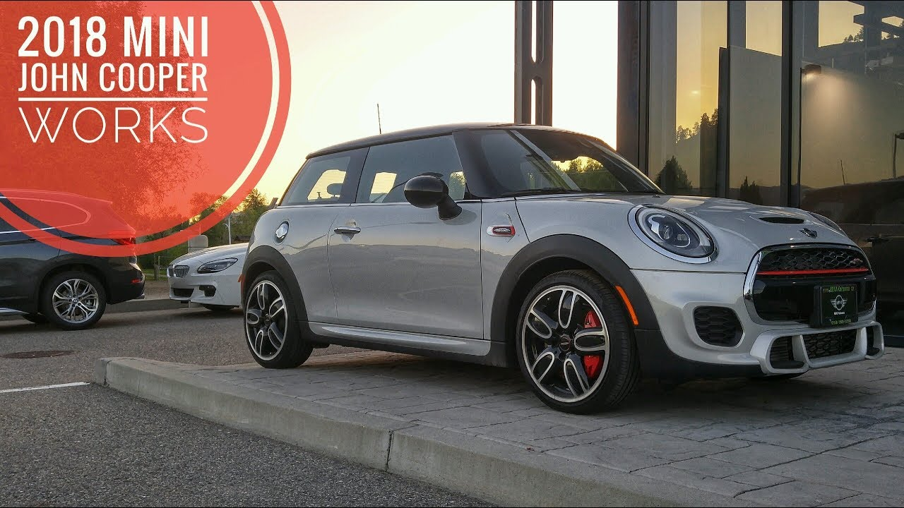 2018 mini john cooper works in white silver metallic sweet youtube. Black Bedroom Furniture Sets. Home Design Ideas