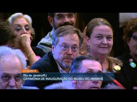 Presidenta Dilma inaugura o Museu do Amanhã no Rio de Janeiro