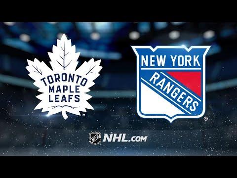 McElhinney, Maple Leafs blank Rangers, 4-0