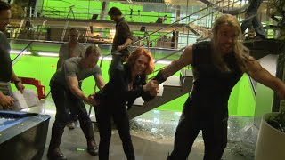 Marvel's Avengers Age of Ultron: Fun Behind the Scenes Look at the Actors' Relationship