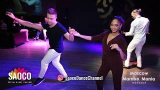 Alexander Vorobyov and Tania Cannarsa Salsa Dancing at Moscow MamboMania weekend, Sunday 28.10.2018